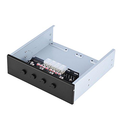 Richer-R HDD Power Control Switch, 4 Schalter Festplattenlaufwerk SATA Drive Switcher Umschalter mit IDE 2xSATA 15Pin Schnittstellen für Desktop PC Computer optisches Laufwerk