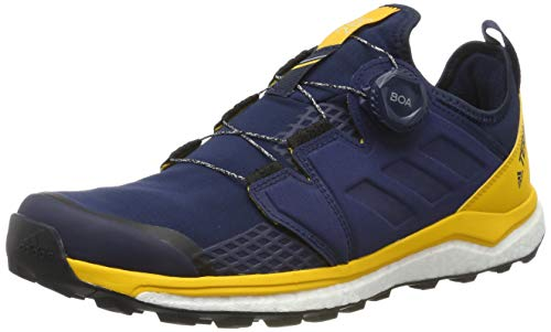 adidas Herren Terrex Agravic Boa Cross-Trainer, Blau (Collegiate Navy/Collegiate Navy/Active Gold Collegiate Navy/Collegiate Navy/Active Gold), 43 1/3 EU