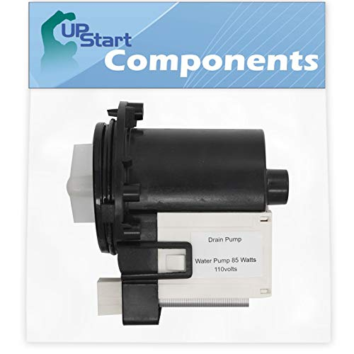 DC31-00054A Washer Drain Pump Replacement for Samsung WF448AAP/XAA-0000 Washing Machine - Compatible with DC31-00054A Water Pump - UpStart Components Brand