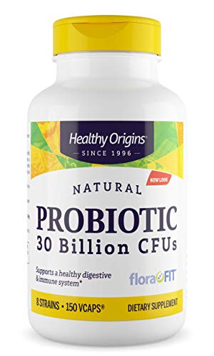 Healthy Origins Probiotic 30 Billion CFU's Shelf Stable, 150 Veggie Caps