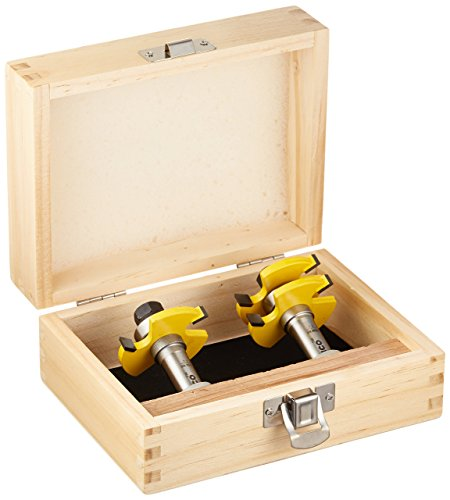 Yonico Router Bits Tongue & Groove Set 3/4-Inch 2...
