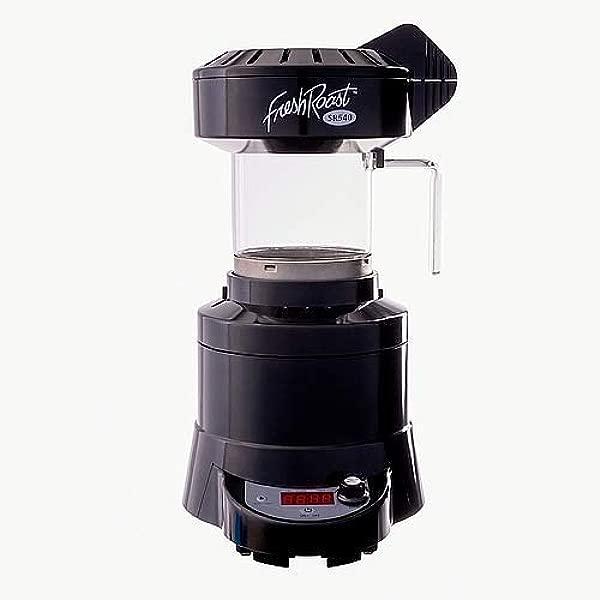 新鲜烘焙模型 SR 540 家用咖啡烘烤器配 12 盎司也门海米莫卡豆