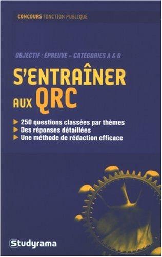 S'entrainer au qrc (Concours fonction publique)
