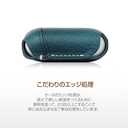 SLGDesign(エスエルジーデザイン)『AirPods専用MinervaBoxLeatherCase』