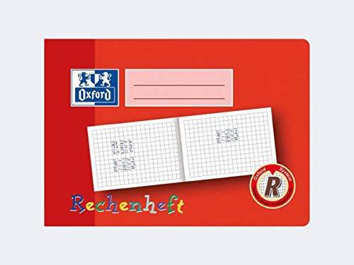 Oxford Rechenheft, DIN A5 quer, Lineatur: R / 10mm kariert VE=1
