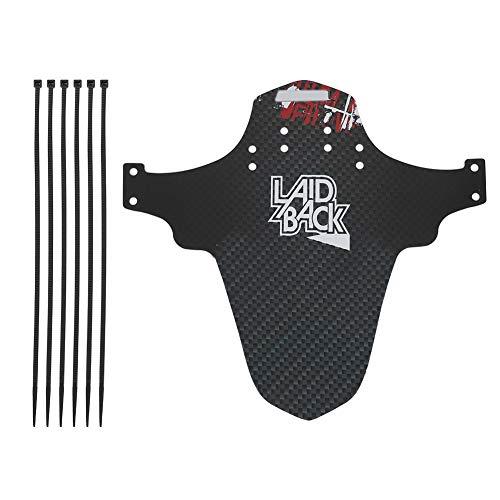 Tbest MTB Schutzblech Fender Schutzblech,Mountainbike Fahrrad Schutzbleche für Fahrrad Kotflügel, MTB Rennrad-Schutzbleche vorne hinten Schutzbleche für Rennrad MTB(F01)