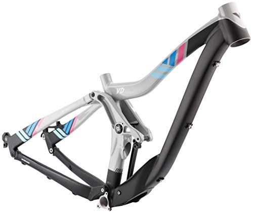 VOTEC VD Rahmenkit Gravity Fully 27,5/26 Storm Grey/Blue/pink Rahmengröße 58cm 2017 Fahrradrahmen