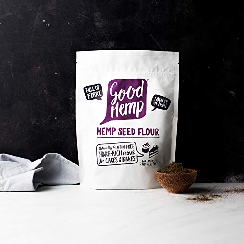 Good Hemp Seed Flour Natural Fiber Protein-Rich Perfect For Baking And CakesNut Free Gluten Free Natural Source Of Iron Healthy Breakfast Saltless Fluffiest Muffins 100% Natural Shelled Hemp Seed 400g