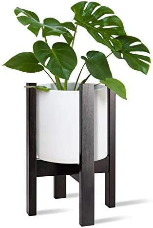 Indoor Outdoor Adjustable Bamboo Plant Stand Holder Coindivi Mid Century Corner Flower Plant product image