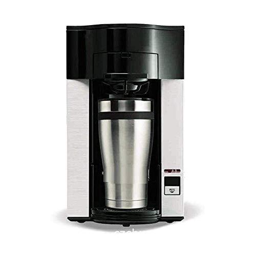 Bomba tradicional máquina de espresso, café y Capuchino, Automático pequeña escala Molienda goteo Cafetera, ajustable Cup Holder, for la oficina Sala de reuniones, Catering/comercial WTZ012