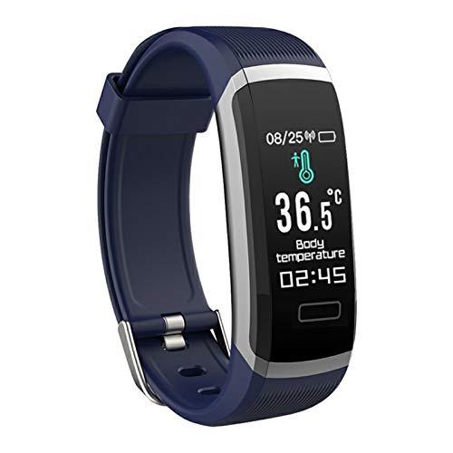 YONGLI Pulsera Inteligente Pulsera Impermeable Fitness Monitor De Ritmo Cardíaco Pulsera Deportiva Reloj Inteligente para Teléfono (Color : 3)
