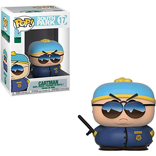 FreeStar Funko Pop Animation : South Park - Cartman#17 3.75inch Vinyl Gift for Anime Fans Multicolur