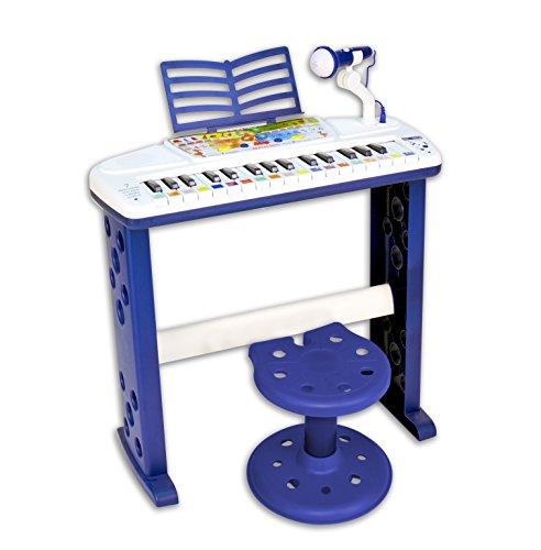 Bontempi- Organo Elettronico Parlante, Multicolore, 143340