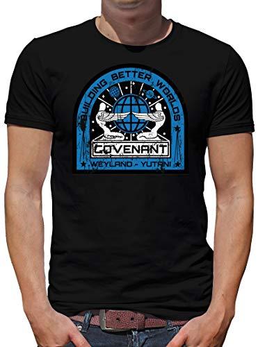 TShirt-People Covenant Alien Ship T-Shirt Herren XL Schwarz