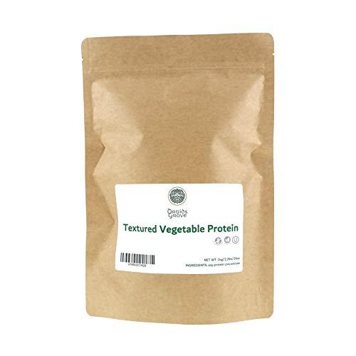 Druids Grove Textured Vegetable Protein (TVP) ☮ Vegan ❤ Gluten-Free ✡ OU Kosher Certified - 1kg/36oz
