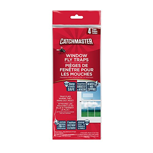 Catchmaster 904 Clear Window Fly Trap - 1 pack of 4 traps