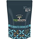 truRoots Organic Germinated Brown Rice, 14 Ounce Pouch