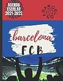 Agenda ESCOLAR 2021-2022: barcelona, cataluña, españa, europa, ciudad, club de fútbol o balonmano, baloncesto etc ... Agenda escolar diaria y semanal ... Calendario educacion , diario regalo