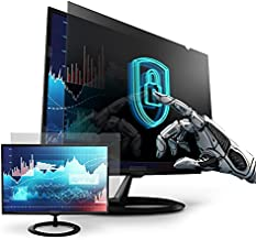 Premium Privacy Screen Filter for 23 Inches Desktop Computer Monitor. Screen Protector Size is 20 inch width x 11.3 inch height. Anti Glare and Anti Blue Light Protection