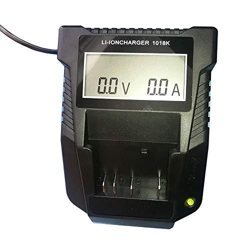 Cargador de repuesto 1018K 3A para batería de litio Bosch 14,4V-18V Cargador rápido con LED