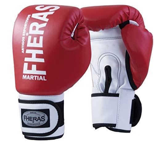 Luva Boxe Muay Thai Fheras New Orion Pró Vm/Br 08 oz