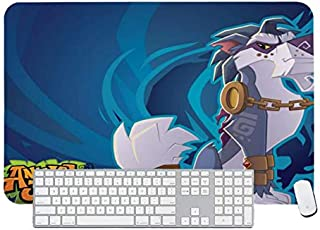 Gaming Mouse Pad Animal Jam Greely for Desktop and Laptop 1 Pack 1000x500x3mm/39.4x19.7x1.1 in