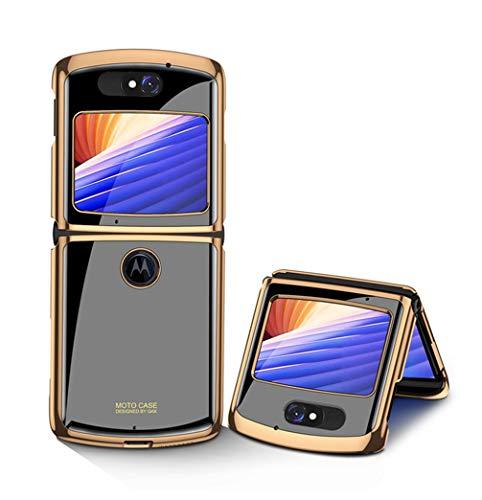 Hauw Hülle für Motorola razr 5G Handyhülle,Kratzfeste Rückseite aus gehärtetem Glas für Motorola razr 5G,Muster 12