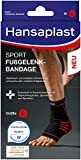 Hansaplast Sport Fußgelenk-Bandage, Sprunggelenkbandage schont und unterstützt das Gelenk,...