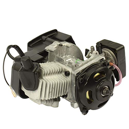 Pocket Bike Motor 49 ccm con carburador Dirt Bike ATV Mini Quad Niños Motores 3,5 CV (49 ccm)