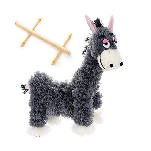 SPARIK ENJOY Donkey Hand Marionette Puppet Children's Wooden Marionette Toys Colorful Marionette Puppet