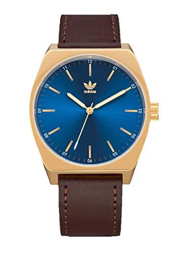 Adidas by Nixon Herren Analog Quarz Uhr mit Echtes Leder Armband Z05-2959-00