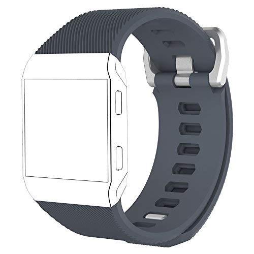Fitbit Ionic Smartwatch Ersatz Armband Riemen, iFeeker Zubehör Einstellbare Soft Silikon Sport Armband für Fitbit Ionic Fitness Smart Watch