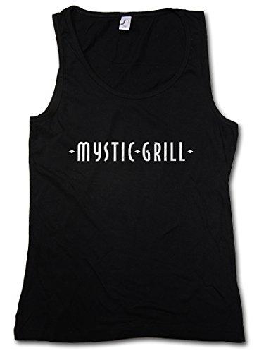 Urban Backwoods Mystic Grill Damen Frauen Tank Top Shirt Schwarz Größe S