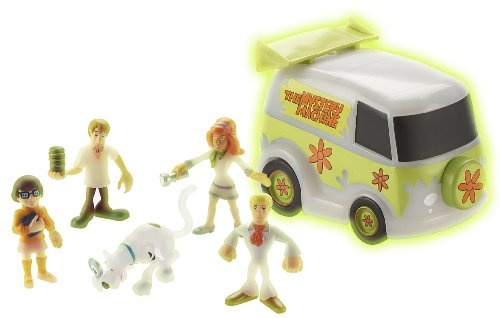 Giochi Preziosi Scooby-Doo - Misterio de Van + 5 Figuras Glow in The Dark (Varios Modelos)