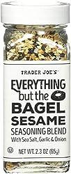 professional Dealer Joe.  vgqd2 3 except bagel sesame with sea salt