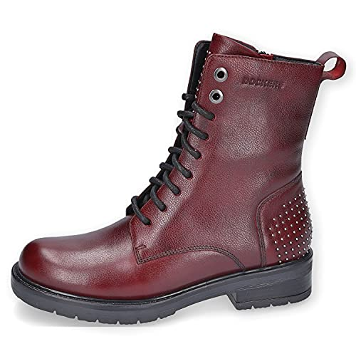 Dockers by Gerli Damen 47KP205 Mode-Stiefel, Bordeaux, 39 EU