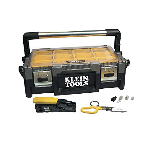 Klein Tools VDV026-831 The VDV ProTech Data Kit Has all the Tools Needed to Install Twisted Pair Cables