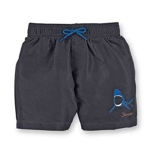 Sterntaler Kinder Jungen Badeshort, UV-Schutz 50+, UV-Schutz 50+, Alter: 6-12 Monate, Größe: 74/80, Eisengrau