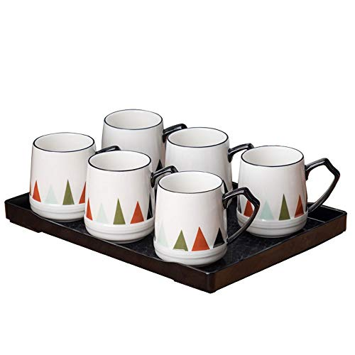RXM koffiemok, set voor woonkamer, eetkamer, hoge temperatuur, robuust Een