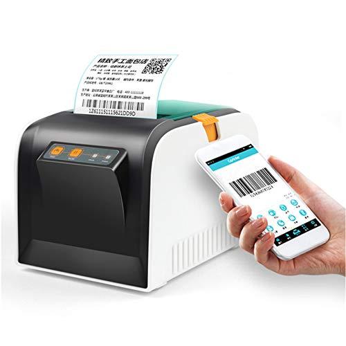DJG 80mm Code-Barres Imprimante Thermique Imprimante d'étiquettes, imprimante Ticket détail POS, Mini USB Bluetooth Téléphone imprimante