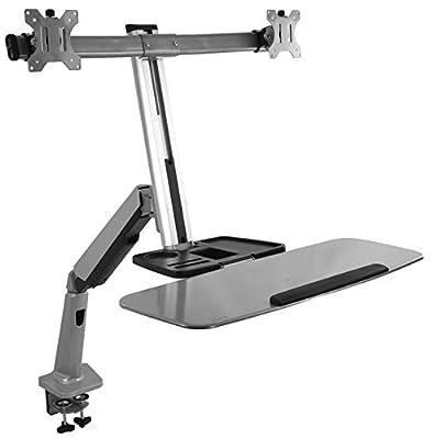 VIVO Monitor & Keyboard Counterbalance Sit-Stand Desk Mount