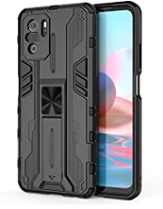 """Hicaseer Capa para Redmi Note 10 Pro,TPU anti-vibração 360 graus Cobertura protetora Forte adsorção magnética para suporte para Xiaomi Redmi Note 10 Pro 6.67"""""""