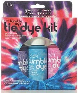 SEI 10118 Tumble Dye Craft & Fabric Tie Dye Kit 2oz 3/Pkg-Girly Girl