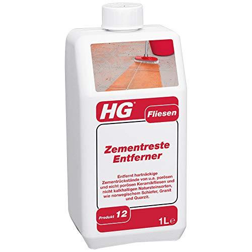 HG Zementreste-Entferner (produkt 12) 1L - Der Zemententferner für Fliesen und Steinplatten