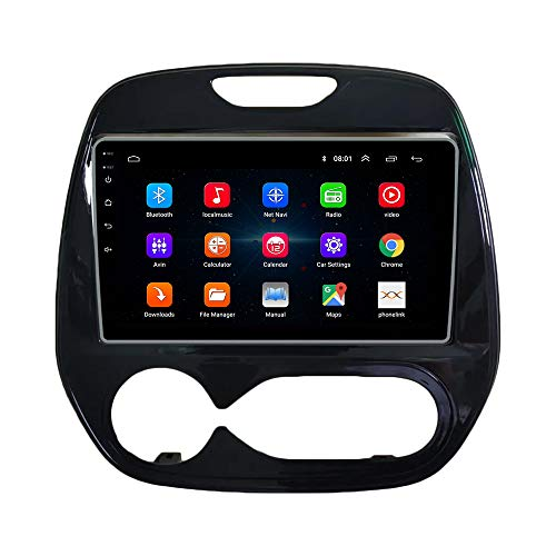 Android 10 Autorradio Navegación del Coche Unidad Principal Estéreo Reproductor Multimedia GPS Radio IPS 2.5D Pantalla táctil porRenault Kabin Manual kaptur 2016-2018