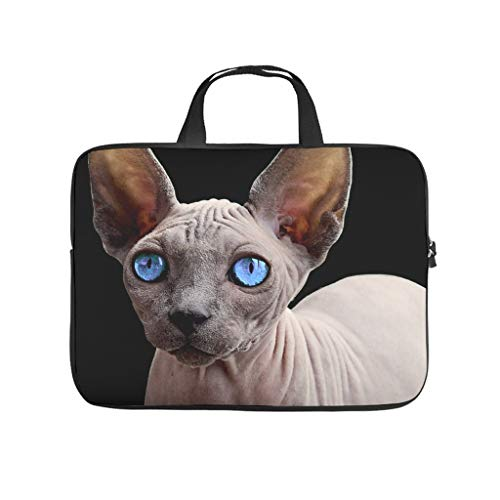 Standard Sphinx Cat Laptop Bags Premium Large Tablet Bag Suitable for Commuter