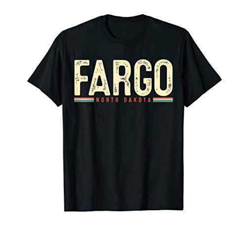 Fargo North Dakota Retro Gift T-Shirt