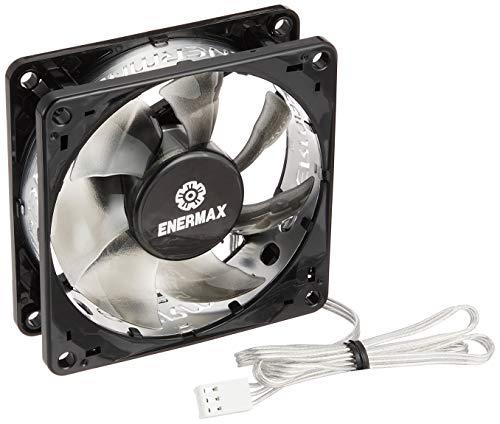 Enermax TB Silence - Ventilador para caja de ordenador, negro, 8.2 x 8.2 x 2.5 cm