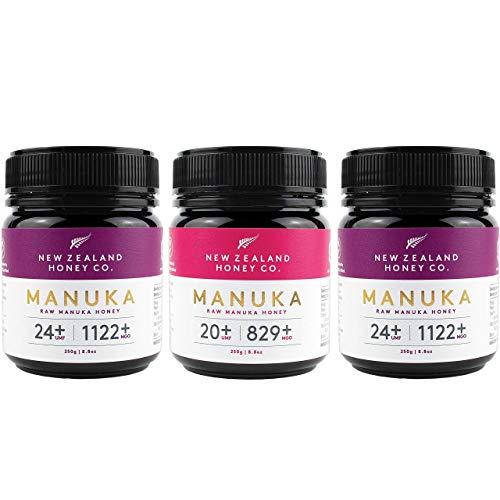 Raw Manuka Honey Bundle - New Zealand Honey Co. UMF 24+ / UMF 20+