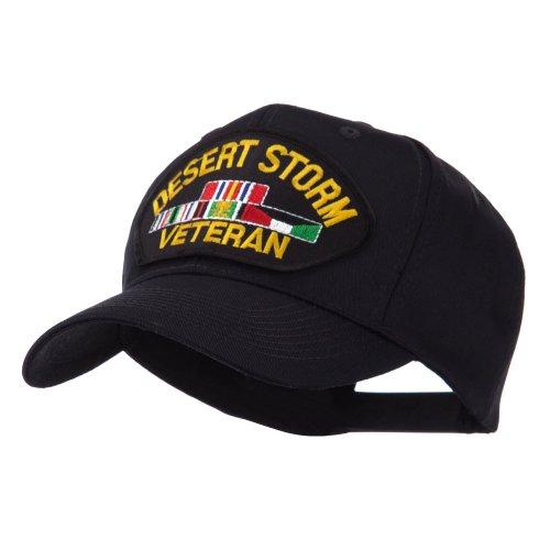 e4Hats.com Veteran Military Large Patch Cap - Desert Storm OSFM